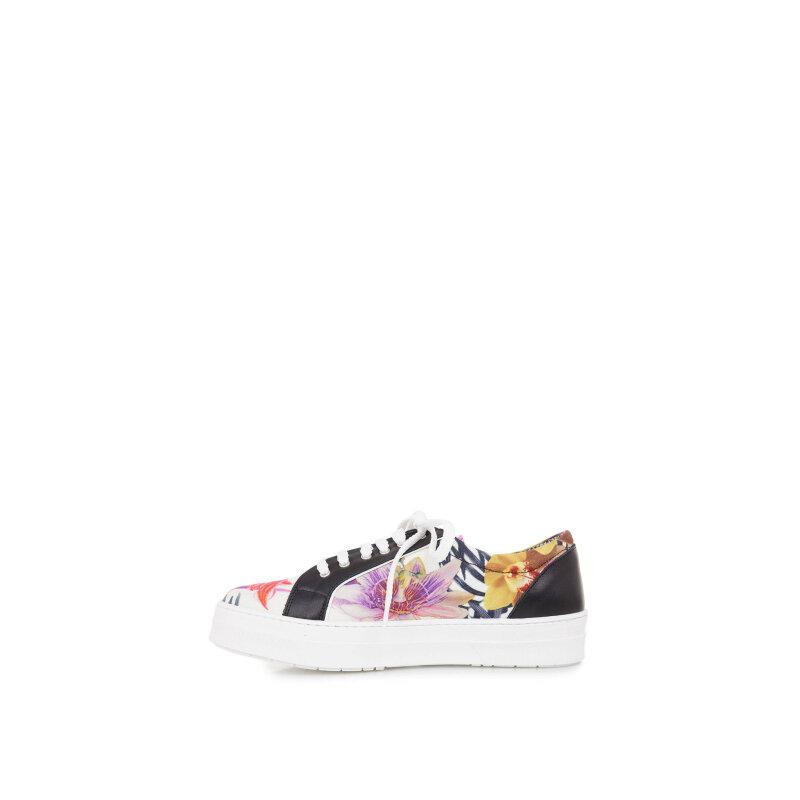 Sneakersy Pollini czarny
