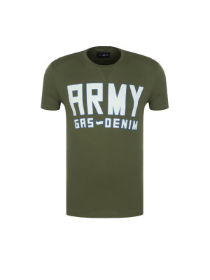 Gas T-shirt Stini/S Army