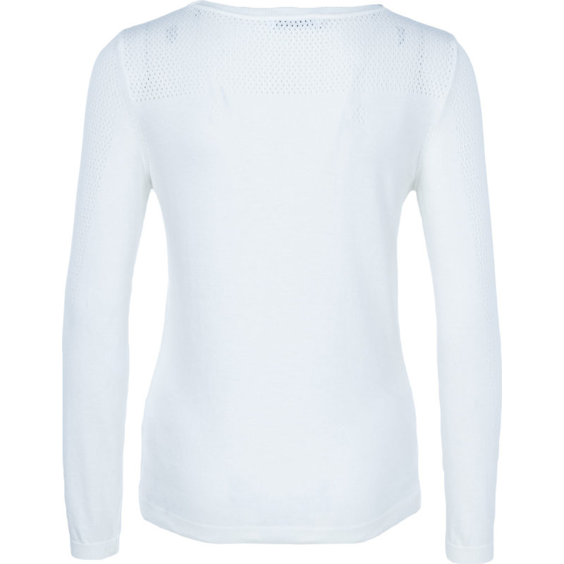 Sweter Lacoste kremowy