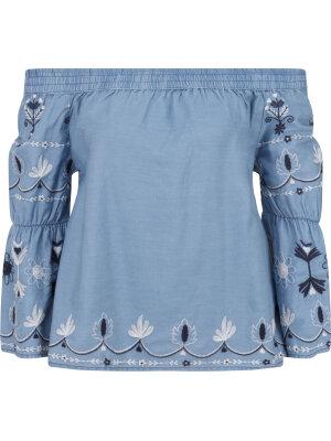 Pepe Jeans London Bluzka HOPE | Regular Fit | denim