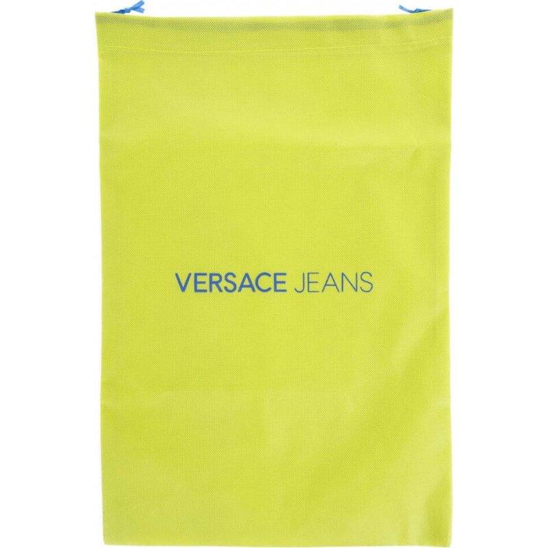 Sneakersy Versace Jeans kremowy