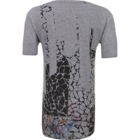 T-shirt Barbican Pepe Jeans London szary