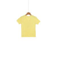 T-shirt Logo Tommy Hilfiger żółty