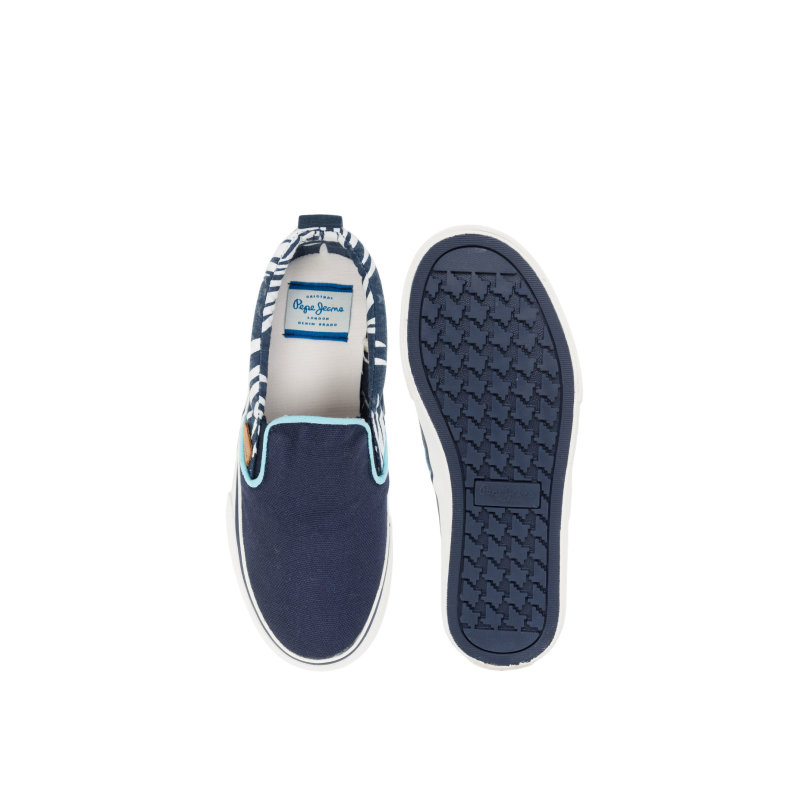 Slip On Traveler Aloha Pepe Jeans London granatowy