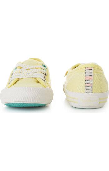 Tenisówki Baker Plain Pepe Jeans London żółty