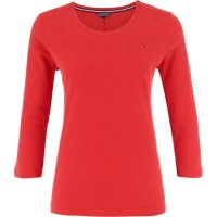 Blouse JEANA SCOOP NK TOP 3 | Regular Fit Tommy Hilfiger red