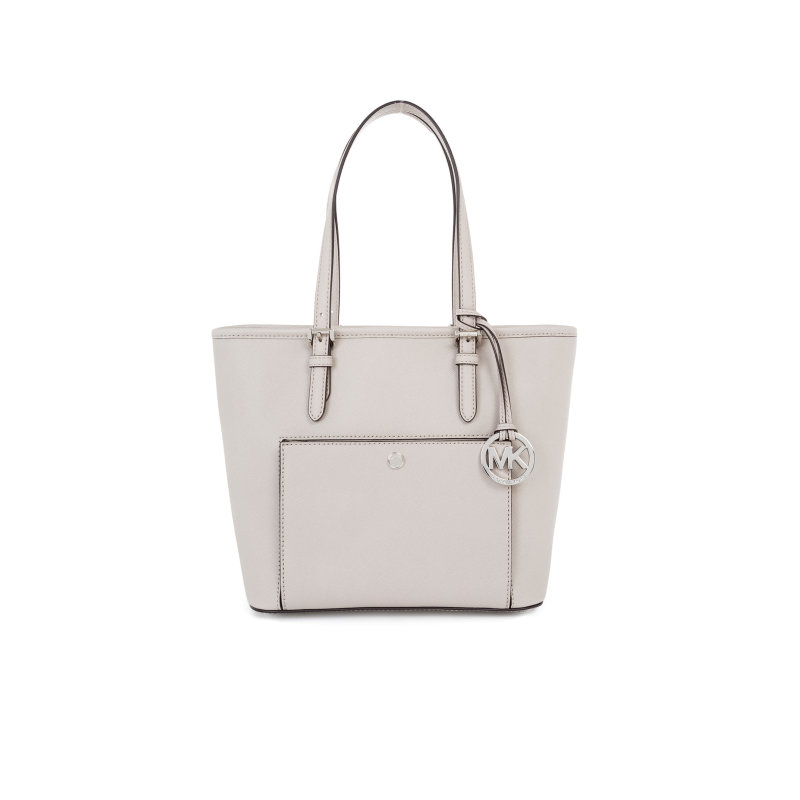 Shopperka Jet Set Item Michael Kors popielaty