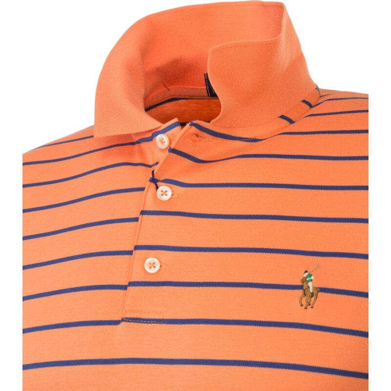 Polo Stretch Mesh Polo Ralph Lauren pomarańczowy