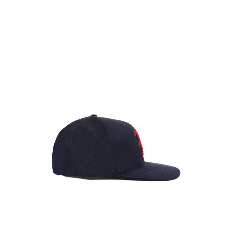 Baseball cap Hilfiger Denim navy blue