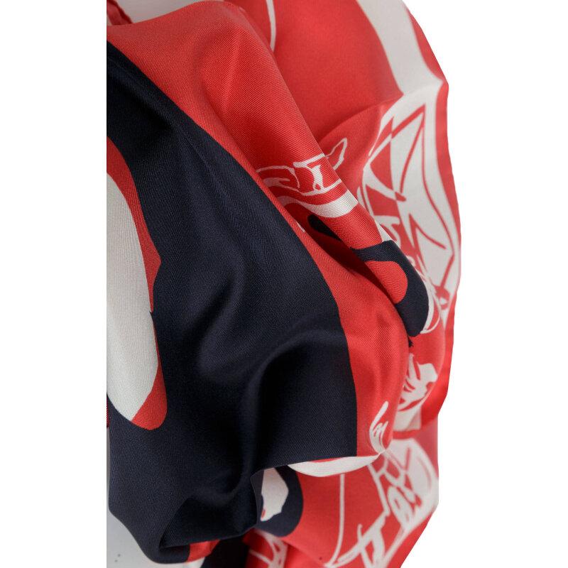Scarf Escada Sport red
