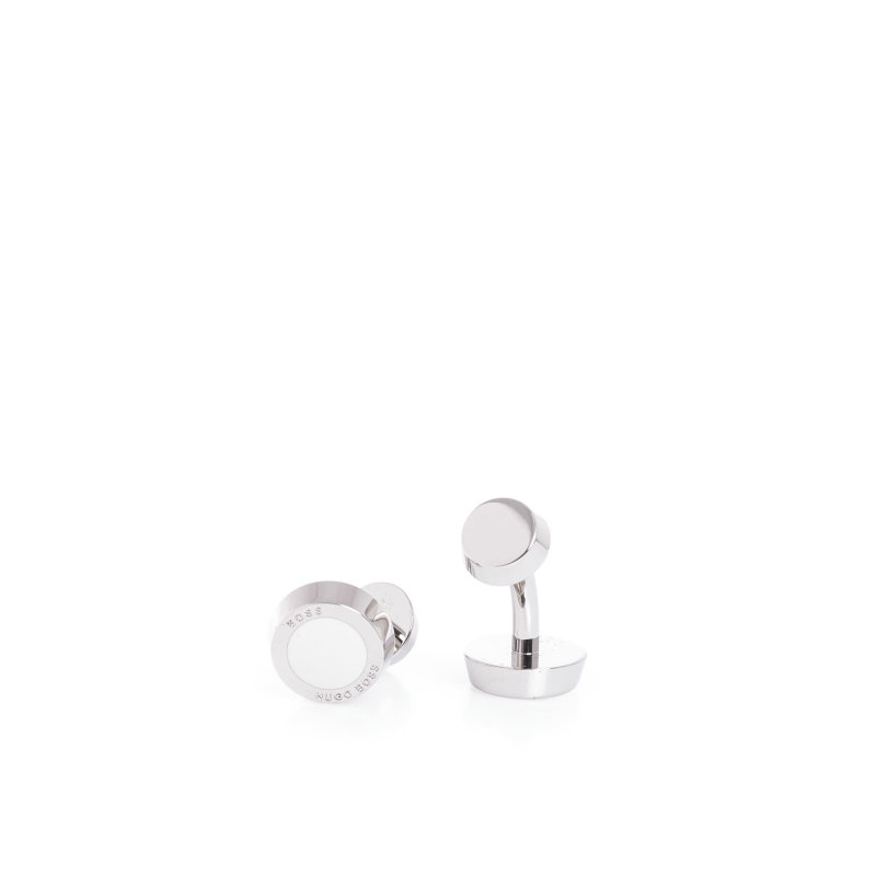 Simony cufflinks Boss cream