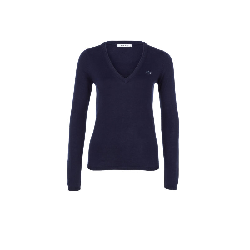 Sweater Lacoste navy blue