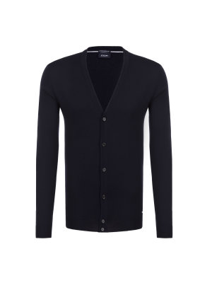 Joop! COLLECTION Wełniany kardigan Devon