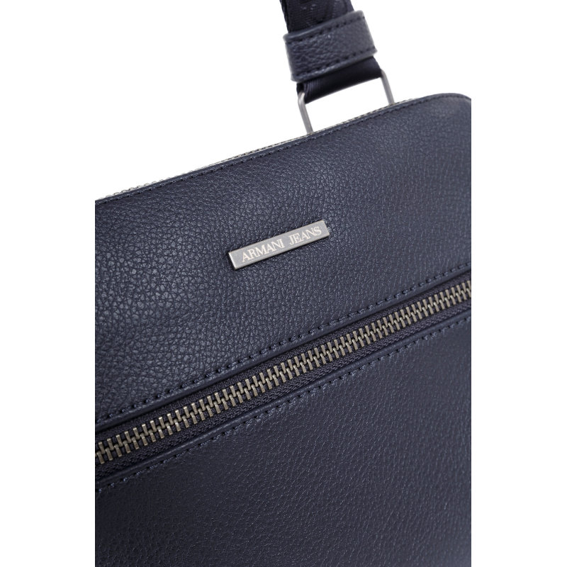 Reporter bag Armani Jeans navy blue