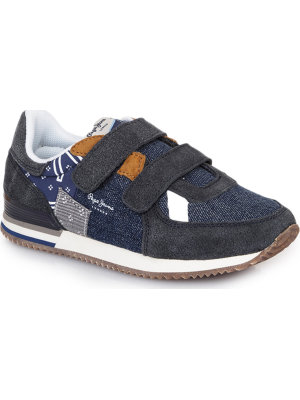 Pepe Jeans London Sneakersy Sydney Denim