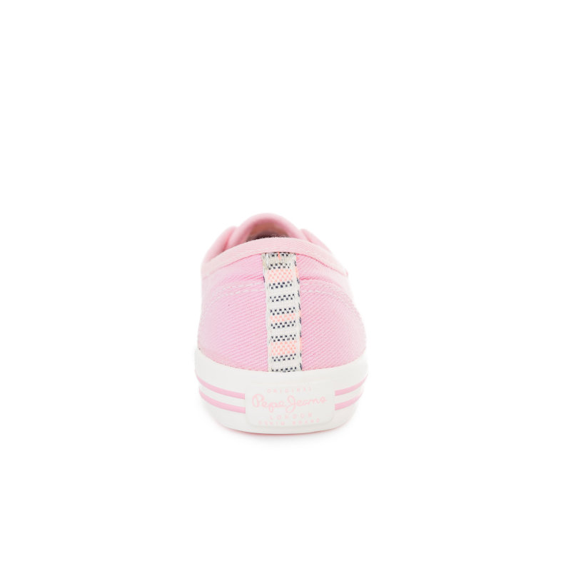 Baker Plain Sneakers Pepe Jeans London pink