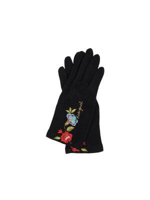Desigual Wełniane Rękawiczki Caribou Touch Screen