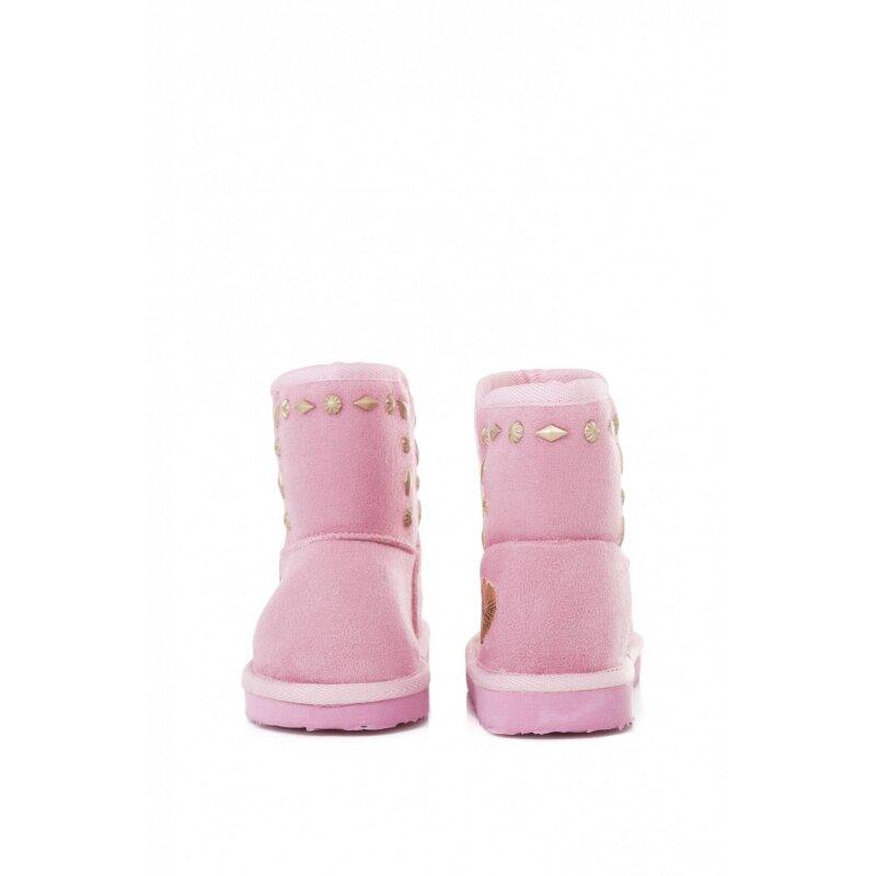 Śniegowce Angel Studs Pepe Jeans London różowy