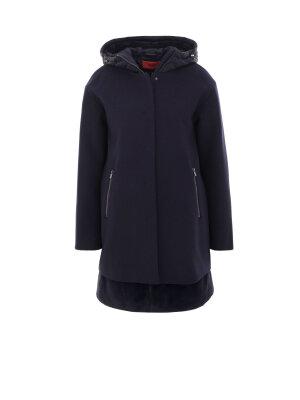 Hugo Woollen coat + Gilet Fatessa