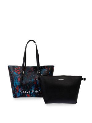 Calvin Klein Shopperka + Organizer CK Zone