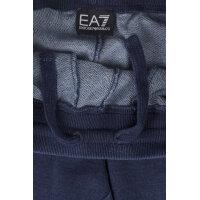 Spodnie dresowe EA7 niebieski