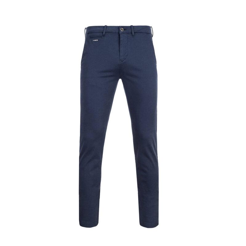 Spodnie Chino Alain Guess Jeans granatowy