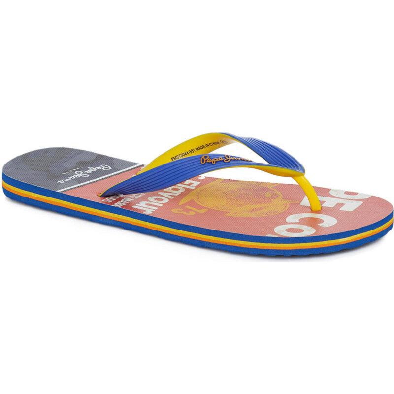 Mens Hawi Flavour Flip Flops Pepe Jeans London nxduwzh