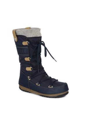 Moon Boot Monaco Felt Snow Boots