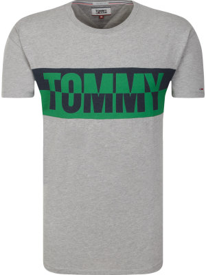 Tommy Jeans T-shirt TJM SPLIT GRAPHIC | Relaxed fit
