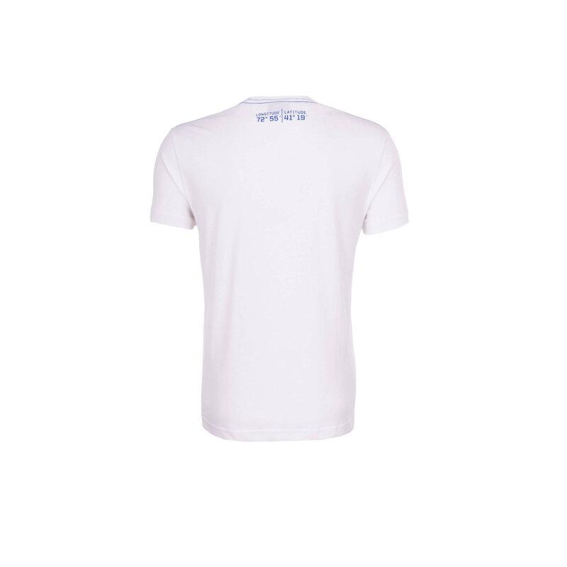 T-shirt YC. US-49 Gant biały