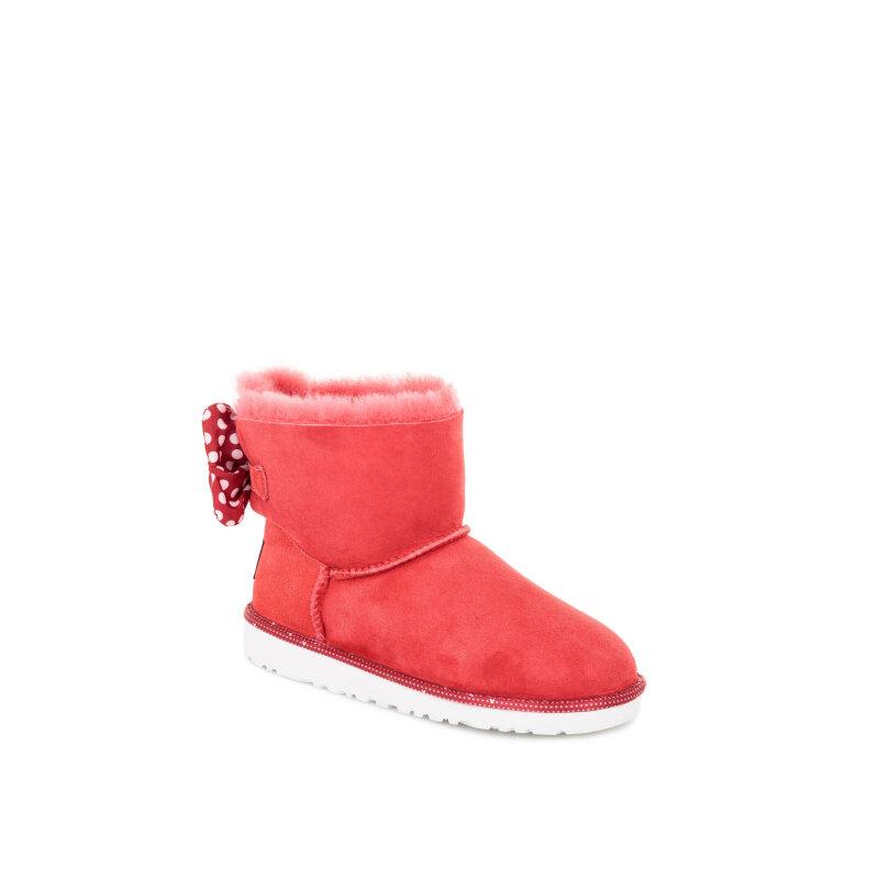 Śniegowce Sweetie Bow UGG czerwony