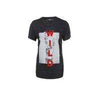 T-shirt T-Smile-Z Diesel czarny