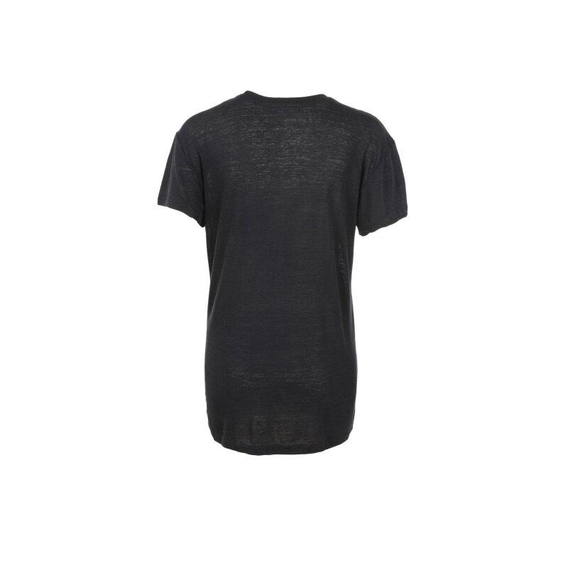 T-shirt T Smile Z Diesel czarny