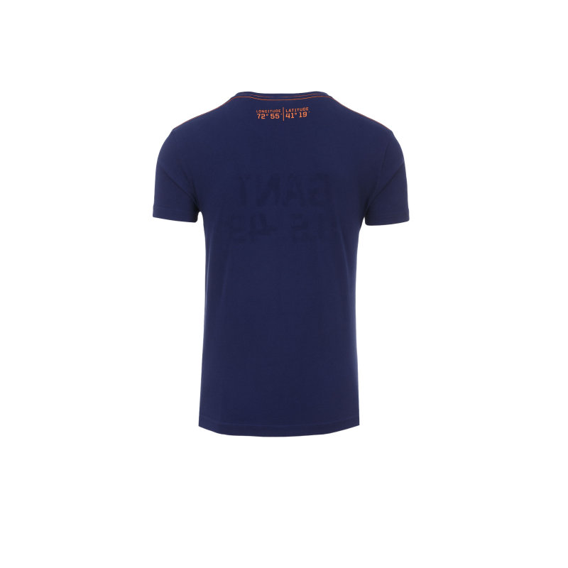 YC. US-49 T-shirt Gant navy blue