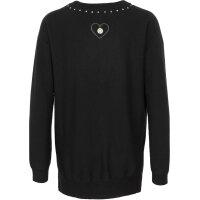 Sweter Twinset Jeans czarny
