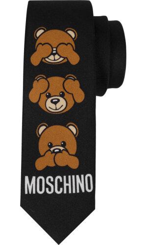 Moschino Jedwabny krawat
