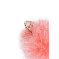 Bubble keyring Furla coral