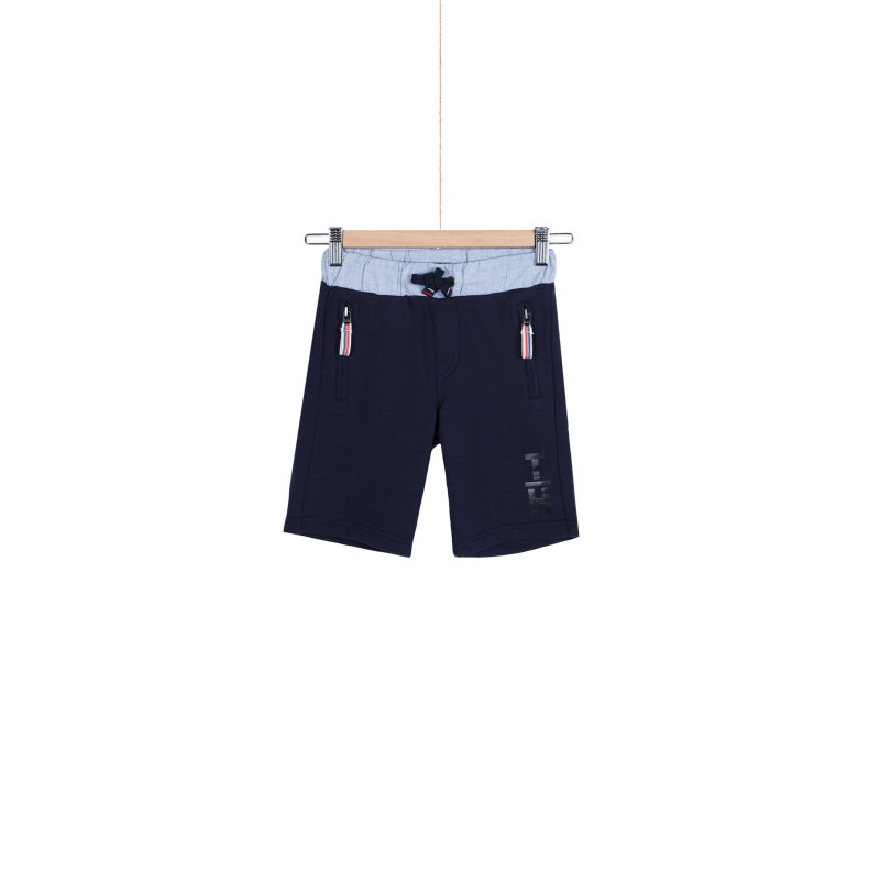 Oxford shorts Tommy Hilfiger navy blue