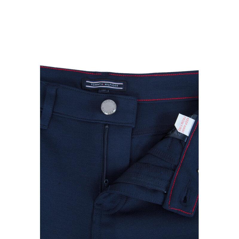 Spodnie Tommy Hilfiger granatowy