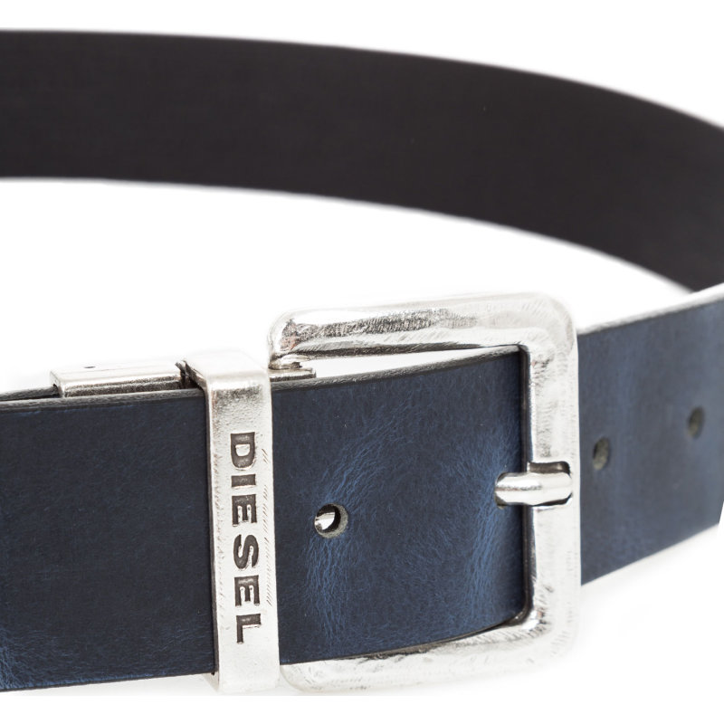 B-Twin reversible belt Diesel black