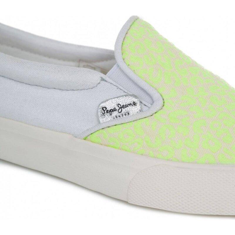 Slip On Traveler Flour Pepe Jeans London żółty