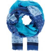 Scarf Armani Jeans navy blue