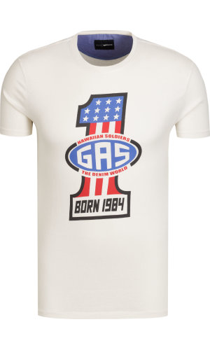 Gas T-shirt Stini/s born | Regular Fit