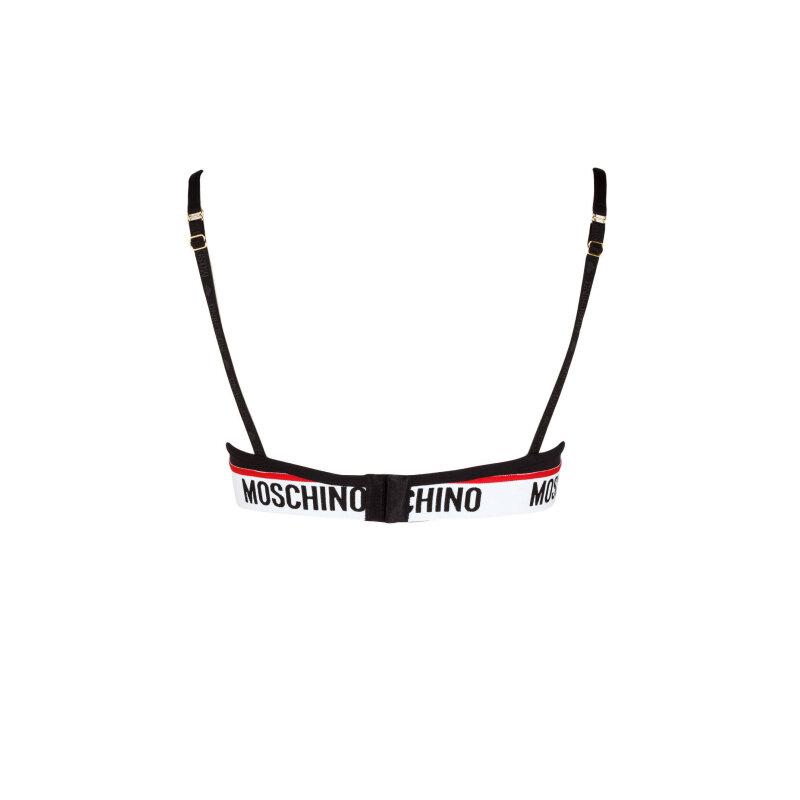 BIUSTONOSZ Moschino Underwear czarny