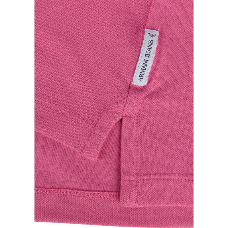 Polo Armani Jeans różowy