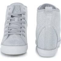 Sneakersy Jilly Guess srebrny