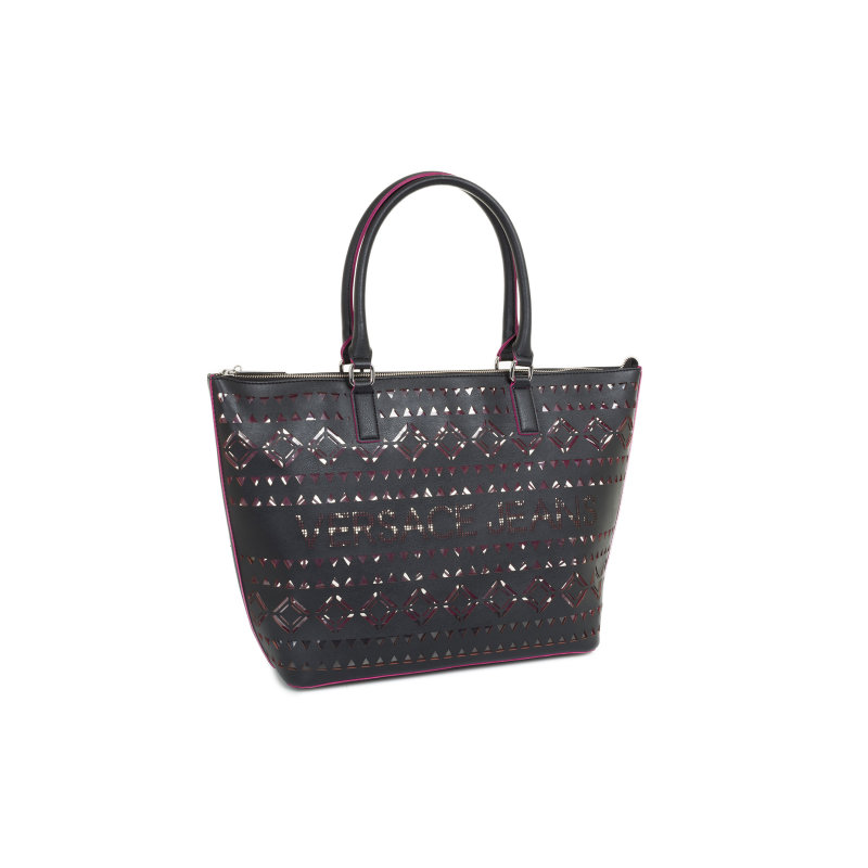 Shopper bag Versace Jeans black