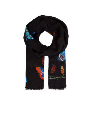 Desigual Shawl Winter Stripes