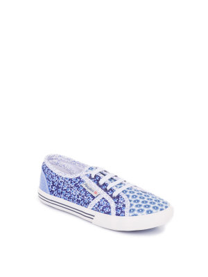 Pepe Jeans London Baker Flowers Sneakers