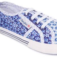Baker Flowers Sneakers Pepe Jeans London blue